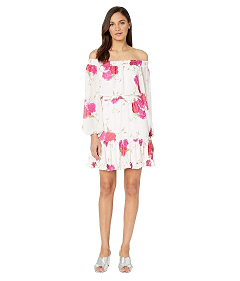 495e372cd64 Betsey Johnson Off the Shoulder Floral Dress at 6pm