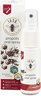 Sponsored Ad - 1839 Products from the Hive - Honey Propolis Throat Spray With New Zealand Manuka UMF 10+, 30g