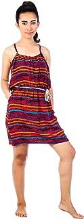 Lofbaz Women's Rayon Print Sun Dress