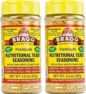 Bragg Premium Nutritional Yeast Seasoning -- 4.5 oz - 2 pc