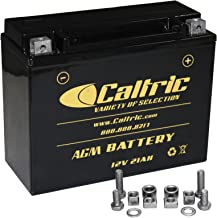CALTRIC AGM BATTERY compatible with ARCTIC CAT Z 570 Z570 Z-570 2002-2007