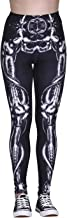 HDE Trendy Design Workout Leggings - Fun Fashion Graphic Printed Cute Patterns