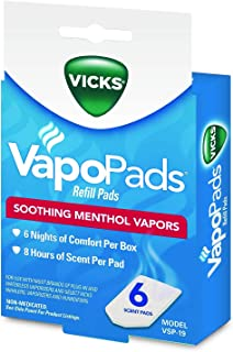 Vicks VSP-19 VapoPads Refill Pads, 6 Count (Pack of 1)