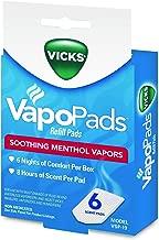 Vicks VSP-19 VapoPads Refill Pads, 6 Count (Pack of 1)