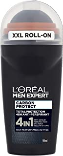L'Oreal Men's Expert Carbon Protect Intense Ice Fragrance Roll-on (50 ml/1.7 oz)