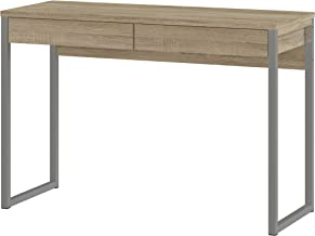 TVILUM 80122ak Walker 2 Drawer Desk, Oak Structure
