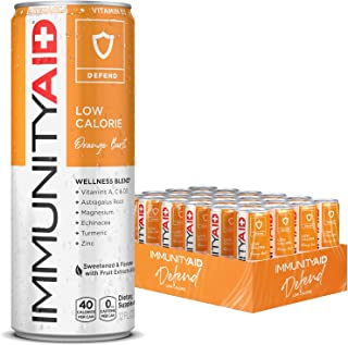 LIFEAID ImmunityAid Support Blend Echinacea, Zinc, Astragalus and Vitamin C No Artificial Flavors or Sweeteners Contains 1...