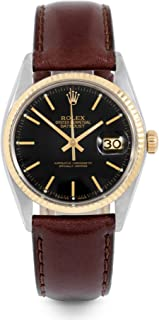 Datejust Swiss-Automatic Male Watch 16013 (Certified Pre-Owned)