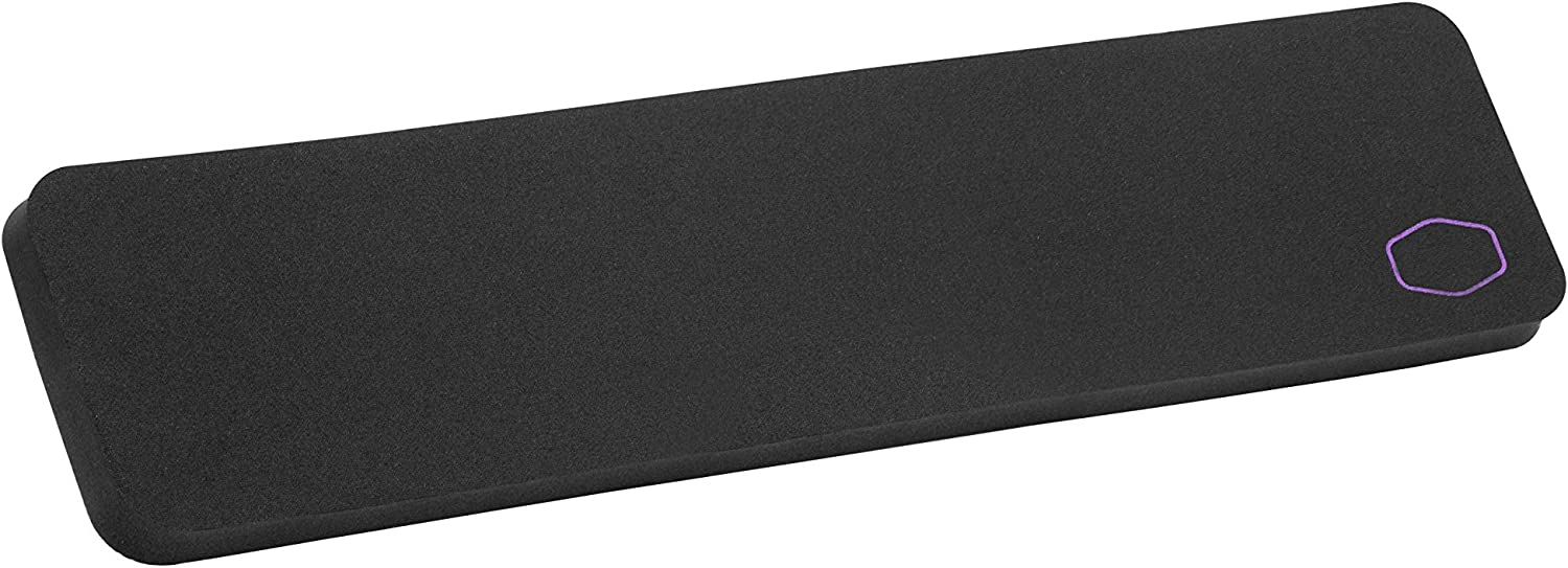 Cooler Master WR531 Wrist Rest TKL Compact Size with Low-Friction Surface, Anti-Slip Base, and Splash-Resistant Coating