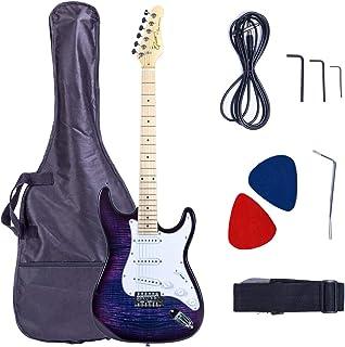 Grote Electric Guitar Classic Custom Chrome Hardware Gigbag (Purple)