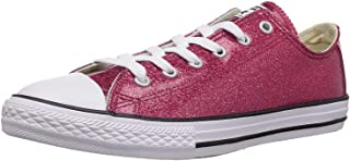 Converse Kids' Chuck Taylor All Star Glitter Low Top Sneaker