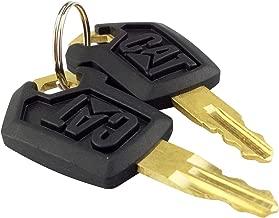 Aree Cat Keys For Caterpillar Heavy Equipment 2 Packs