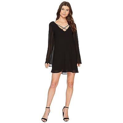 Show Me Your Mumu Joni Flow Dress (Black Chiffon) Women