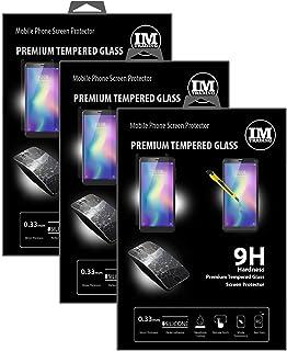 cofi1453 3X pansarskydd glas 9H härdat glas display skydd folie display glas skärmskydd kompatibel med ZTE Blade A5 2019
