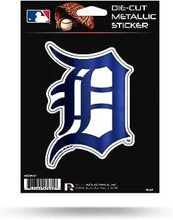 Rico Industries Tigers Die Cut Metallic Sticker