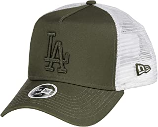 a9f196dce8ff73 New Era Los Angeles Dodgers A Frame Adjustable Trucker Cap MLB Essential