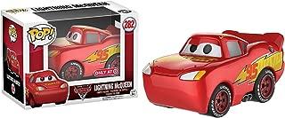 Funko Lightning McQueen (Target Exclusive): Cars 3 x POP! Disney Vinyl Figure & 1 POP! Compatible PET Plastic Graphical Protector Bundle [#282 / 13044 - B]