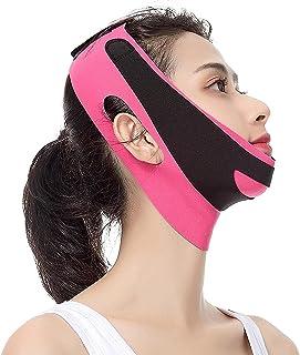 wsbdking Gezichtsheffingsriem V-lijn Lift Up Riem Massage Ontspanning Gezicht Slim-up Riem Lifting Kin Dunne Wang Bandage ...