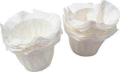Kapsule 1 Cup Paper Coffee Filters - 48 Count per Pack, 1 Pack