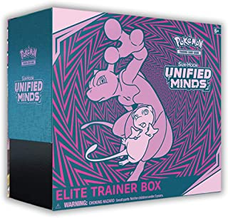 Pokemon TCG: Sun & Moon—Unified Minds Elite Trainer Box | 8 Booster Pack | A Collector's Box, Multicolor