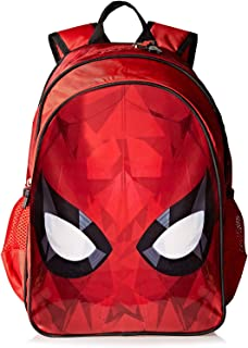 Spiderman School Backpack For Boys - Red