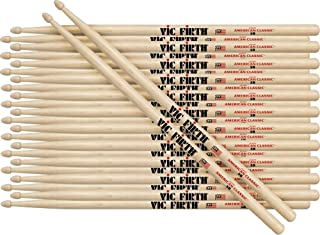Vic Firth 12-Pair American Classic Hickory Drumsticks Nylon 2B