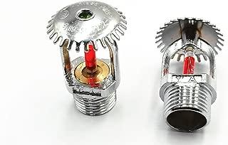 BLS upper Fire Sprinkler 2pcs 68 Centigrade 155.4 Fahrenheit 1/2