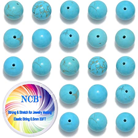 night Beads of stone Turquoise synthetic Cubes 4 mm blue wire 98pc approx 39cm
