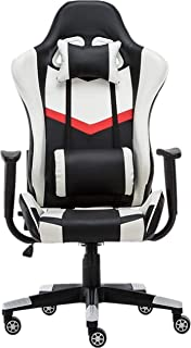 ZHENG Silla Escritorio Silla Gaming Sillas Juego de Ordenador Silla de Oficina se Puede Ajustar Entre 90 ° y 160 ° for el Juego de Trabajo