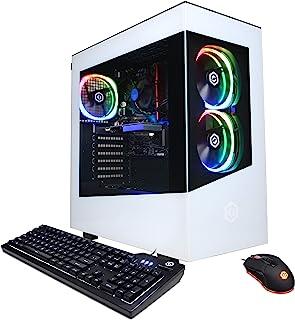 CYBERPOWERPC Gamer Master Gaming PC, AMD Ryzen 3 3100 3.6GHz, GeForce GT 1030 2GB, 8GB DDR4, 240GB SSD, 2TB HDD, WiFi Read...