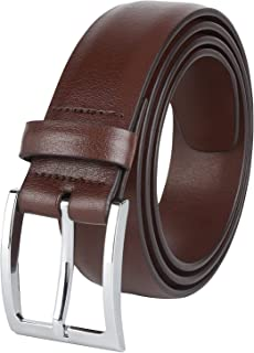 Mens Dress Leather Belt 35MM 1.38