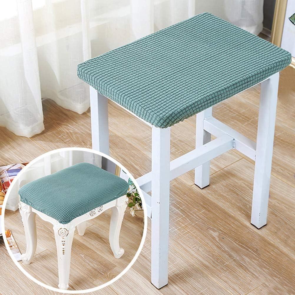 Home & Kitchen Stool Covers alpha-grp.co.jp Beige 4pcs Elastic ...