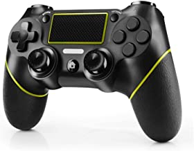 JAMSWALL Controller Compatible per PS4, Controller Wireless Gaming per PS4 Dual Vibration Turbo Gamepad Joystick per PlayS...