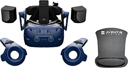 HTC VIVE Pro Eye Office System Bundle with Pro Eye Headset, and Gel Mousepad