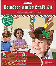 amscan Reindeer Antler Make-Your-Own Headband Kit | Party Favor