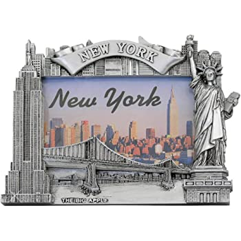 Amazon Com New York City Picture Frame For 4x6 Photos From Nyc Photo Frames Collection 6 75 Tall