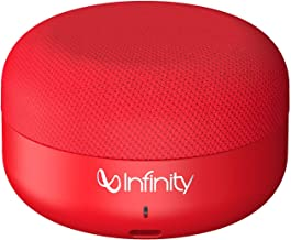 Infinity (JBL) Fuze Pint Deep Bass Dual EQ Bluetooth 5.0 Wireless Portable Speaker (Passion Red)