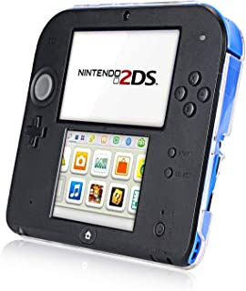 Nintendo 2DS Case, Akwox Transparency Plastic Hard Protective Cover Case Shell Skin for Nintendo 2DS