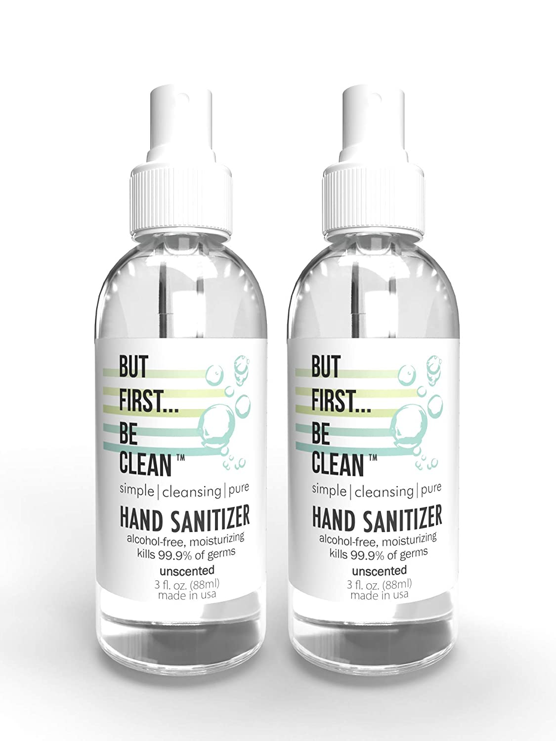 But First Be Clean Moisturizing Hand Sanitizer low-pricing Spray Bargain sale Alcohol-Fr