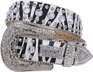 430-Western Bling Belts Cowhide Western Belts Cowgirl Bling Belts Rodeo Belts Plus Size Western Belts For Cowgirls