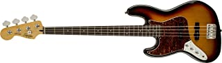 Squier by Fender 306620500 Vintage Modified Jazz Bass, LH, 3-Tone Sunburst