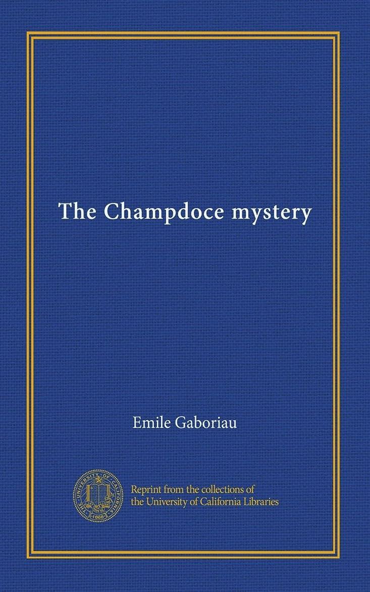 エンティティタイトル順応性The Champdoce mystery