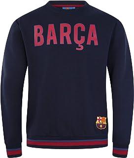 FC Barcelona - Sudadera Oficial para Hombre - con el Escudo del Club
