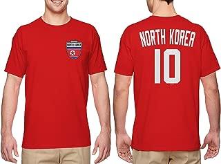 North Korea Soccer Jersey - Korean Men's T-Shirt
