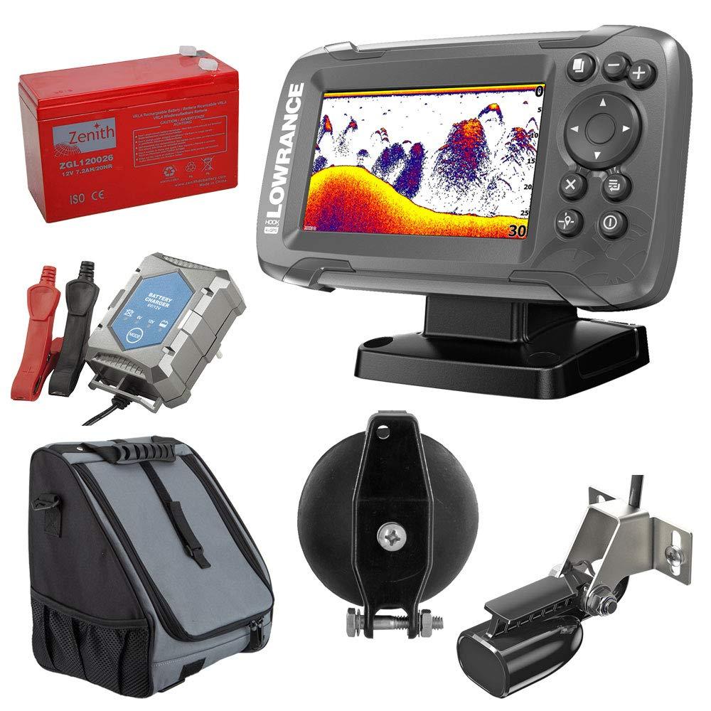 Lowrance hook2 – 4 x GPS Bullet Echolot pescado Finder (200 KHz) Portabel Juego de 1: Amazon.es: Electrónica