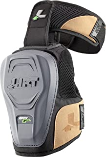 LIFT Safety Non-Marring Apex Gel Knee Guard (Black, One Size)