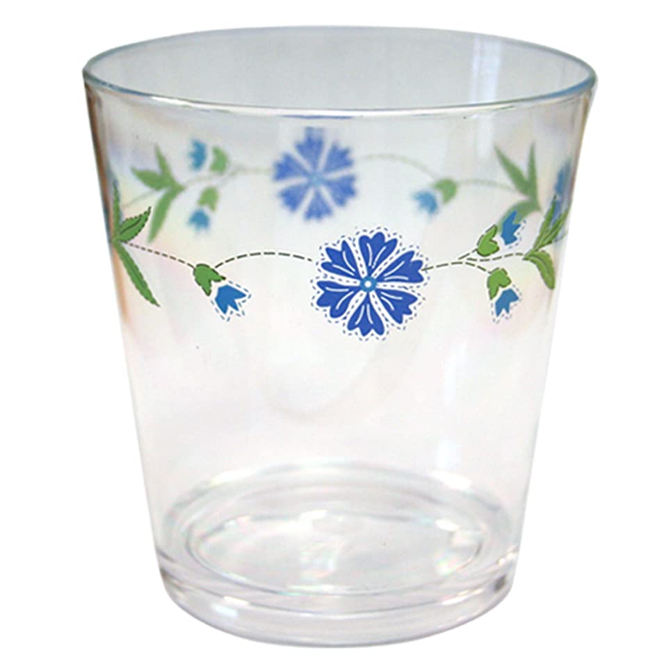 Corelle Coordinates by Reston Lloyd Spring Blue 14-Ounce Round Acrylic Glasses, Set of 6