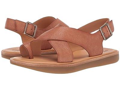 Kork-Ease Canoe (Brown Full Grain Leather) Women