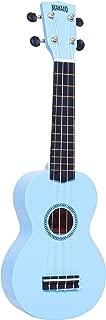 mahalo ukuleles mr1lbu rainbow series soprano ukulele