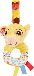 Disney Plush Toys Simba Rattle Toy, Piece of 1